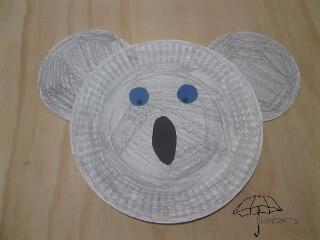 make a koala bear