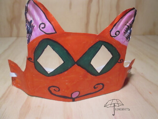 fancy cat mask