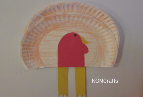 link to paper plate turkey