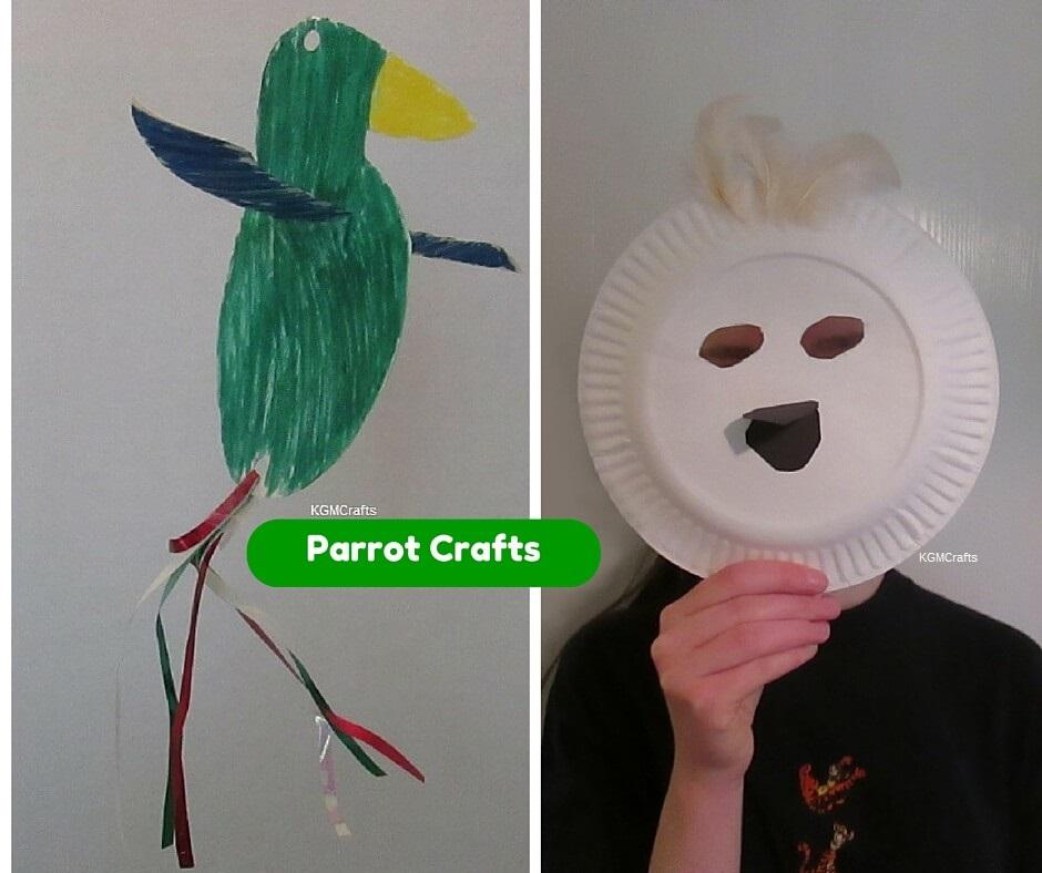 parrot crafts