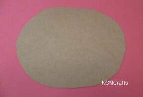 cut a circle of cardboard