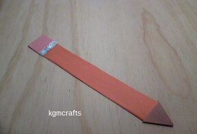 thumbnail of pencil bookmark
