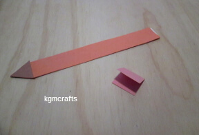 cut a pink rectangle
