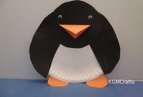 paper plate penguin & Winter Crafts for Kids for a Cool Time