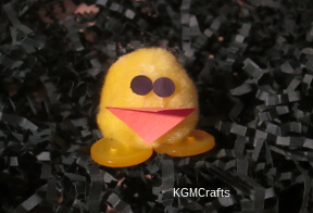link to pompom chick