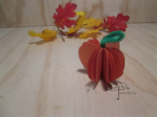 small 3d pumpkin