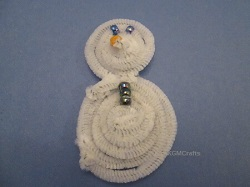 pipe cleaner snowman