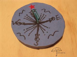pretend compass