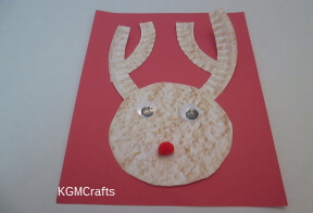 paper plate reindeer crafts for kids