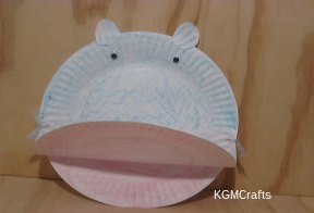 click to make a hippo & Paper Plate Crafts for Kids Super Easy