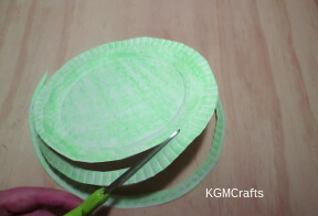 cut the plate in a spiral