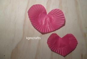 cupcake liner hearts