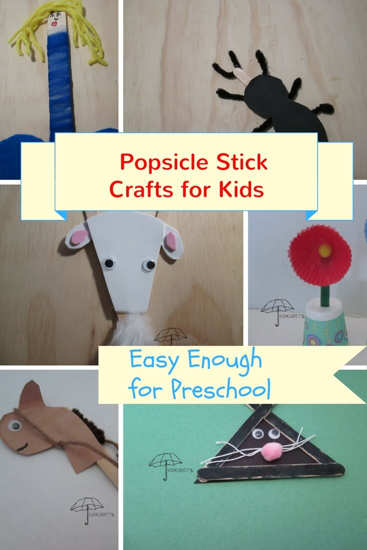popsicle crafts for kids
