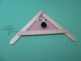 craft stick dog