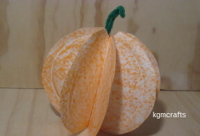add the stem to the pumpkin
