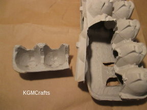cut a egg carton