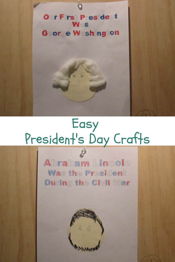 Crafts to help your kids celebrate President's Day