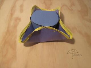 a tricorne hat craft