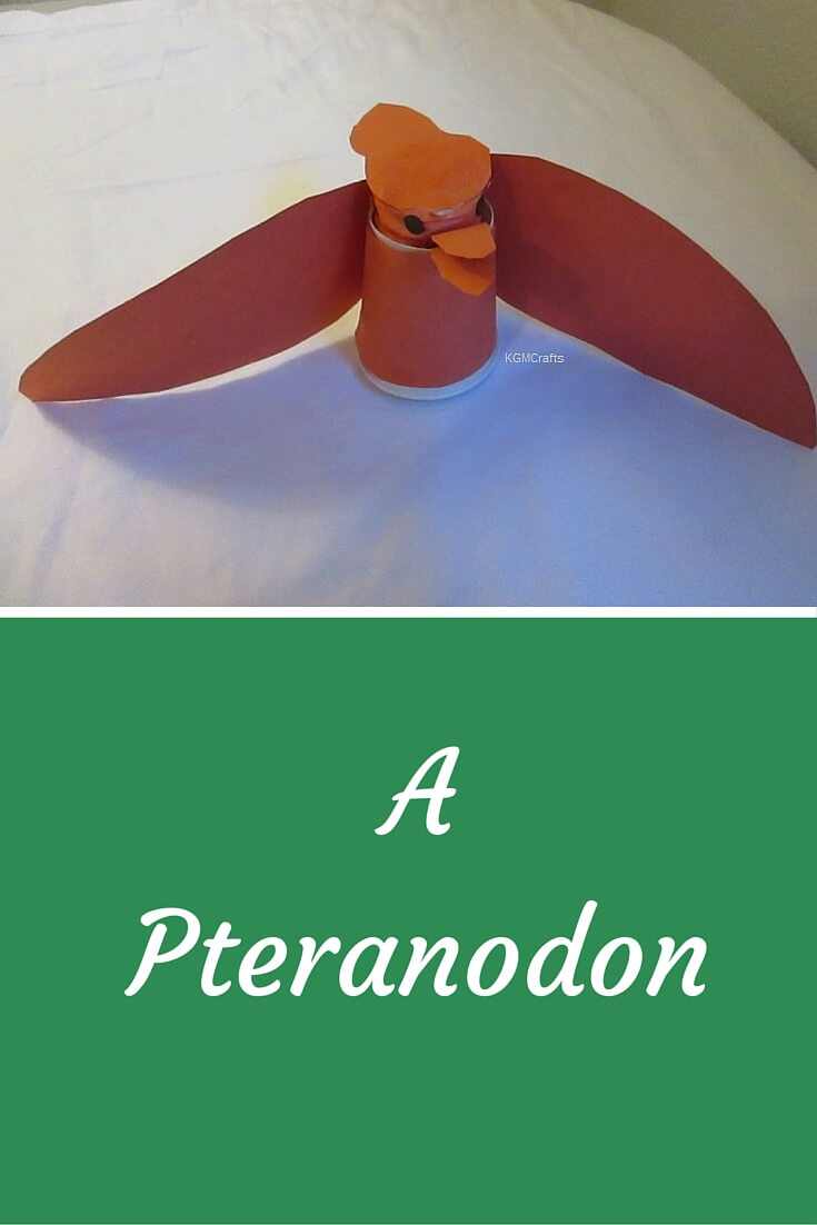 paper cup pteranodon