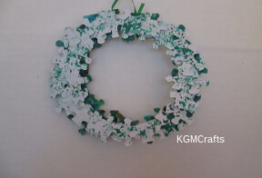 link to puzzle wreath