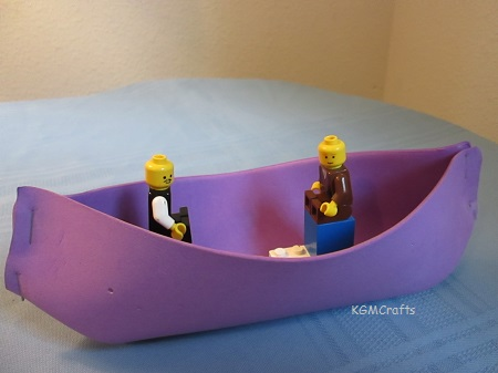 an easy rowboat to make