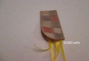 ribbon on arm piece