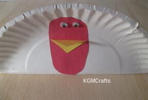 add beak and eyes