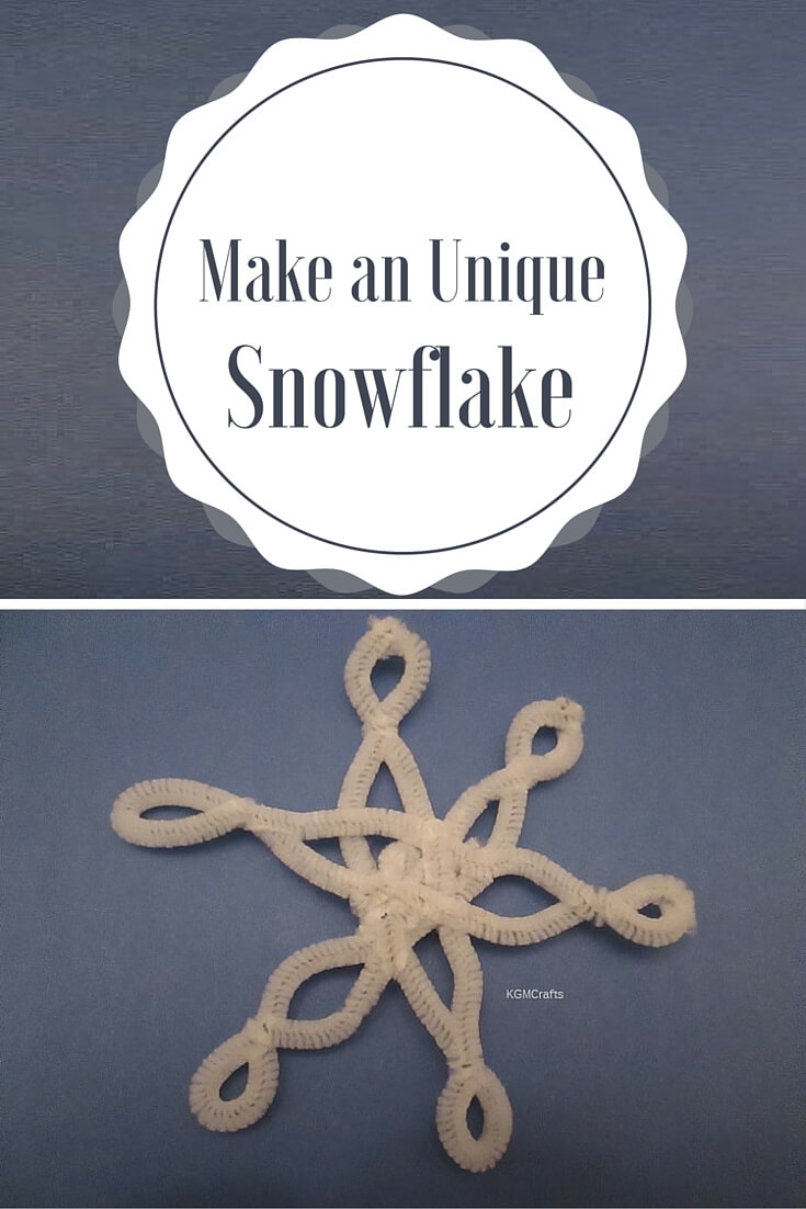 pipe cleaner snowflake