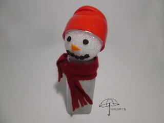 calming snowman craft