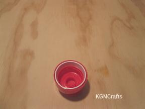 glue inside lid