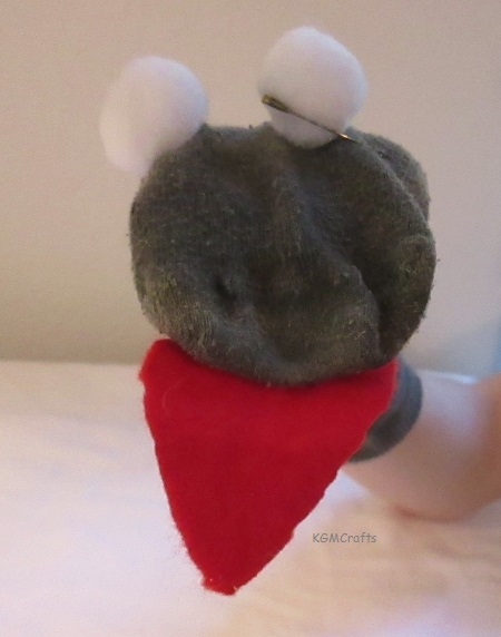 how to make snake puppet with socks