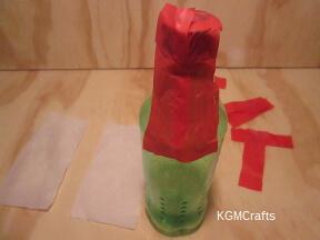 add red tissue
