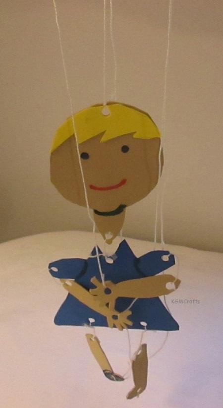 girl string puppet