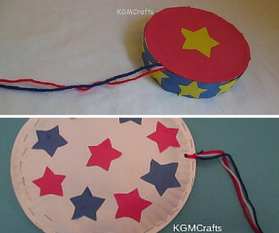 2 tambourine kids crafts