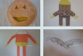 easy Halloween crafts for preschool