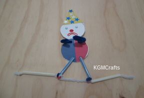 clown on tightrope