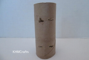 make holes in paper roll