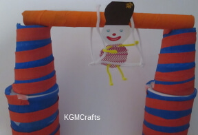 thumbnail of clown on trapeze