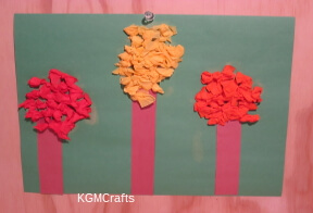 link to tissue paper tree