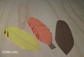 paper turkey feathers