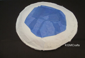 add blue tissue