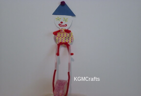 add clown to unicycle