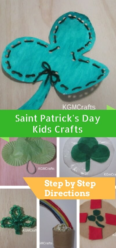 st. patricks day kids crafts