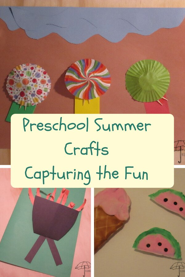 preschool summer crafts