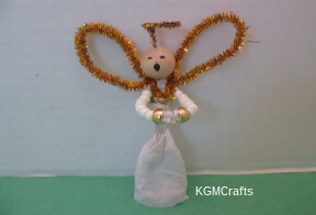 angel made with beads