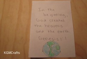 link to creation themed crafts