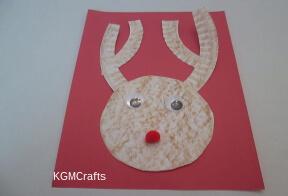 paper plate reindeer crafts for kids