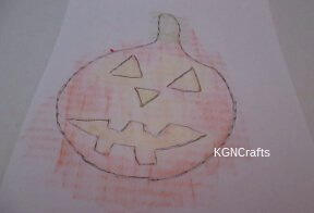 pumpkin rubbing