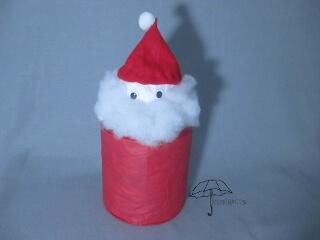 coffee can Santa