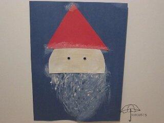 painted Santa